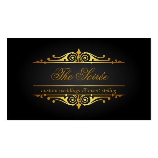 Luxury Event Planner Business Cards
