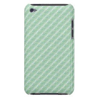 Luxury Formal Aqua Green Embossed Damask Effect iPod Case-Mate Case