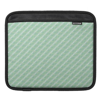 Luxury Formal Aqua Green Embossed Damask Effect Sleeves For iPads