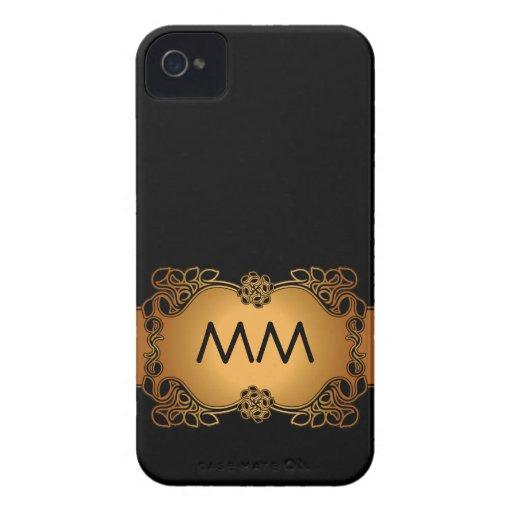 Luxury Glamour Initials Blackberry Bold Case