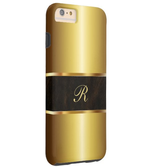 Luxury Gold Coloured Tough iPhone 6 Plus Case