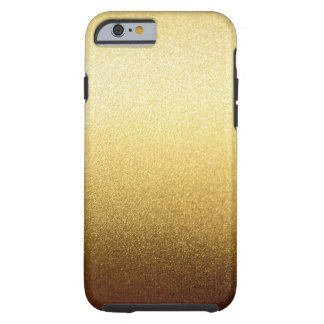 Luxury Gold Glitter Gradient Ombre Pattern Tough iPhone 6 Case
