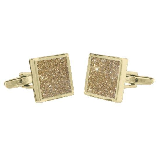 Luxury Gold Glitter - Printed Image Gold Finish