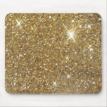 Luxury Gold Sparkling Glitter Mouse Pad
