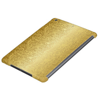Luxury Gold Swirls Case Savvy Glossy iPad Air Case