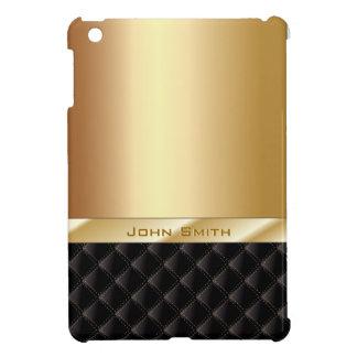 Luxury Gold with Custom Name iPad Mini Case