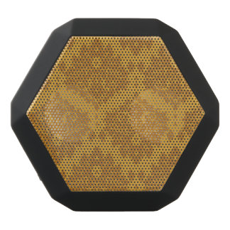 Luxury Golden Damask Black Bluetooth Speaker