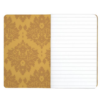 Luxury Golden Damask Journal