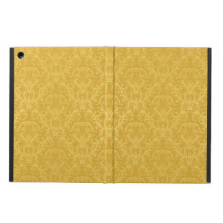 Luxury Golden Floral Wallpaper iPad Air Cover