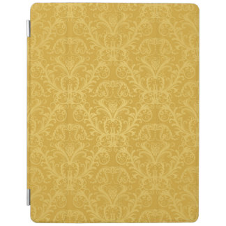 Luxury Golden Floral Wallpaper iPad Cover