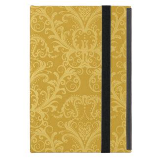 Luxury Golden Floral Wallpaper iPad Mini Case