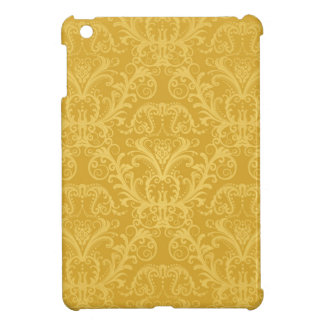Luxury Golden Floral Wallpaper iPad Mini Cover