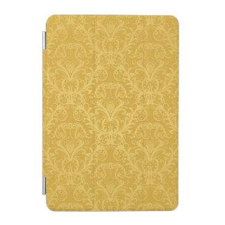 Luxury Golden Floral Wallpaper iPad Mini Cover