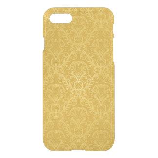 Luxury Golden Floral Wallpaper iPhone 8/7 Case