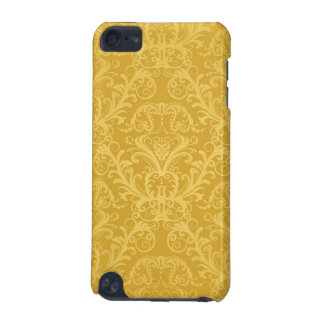 Luxury Golden Floral Wallpaper iPod Touch (5th Generation) Cover