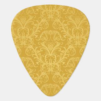 Luxury Golden Floral Wallpaper Plectrum