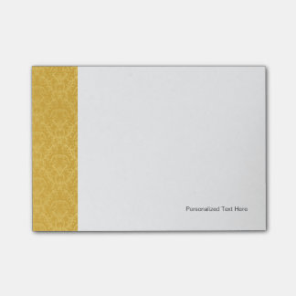 Luxury Golden Floral Wallpaper Post-it Notes