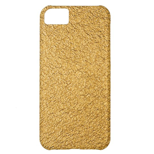 Luxury golden iPhone 5C case