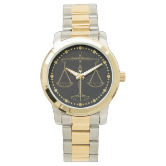 Luxury Golden Scales of Justice | Best Gifts Watch