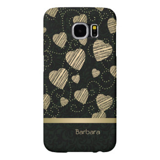 Luxury Hearts Samsung Galaxy S6 Cases