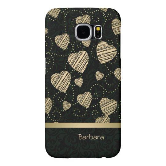 Luxury Hearts Samsung Galaxy S6 Cases