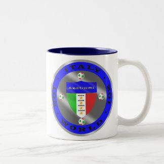 Luxury Italian Soccer world champions logo Coffee Mugs