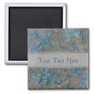 Luxury Lapis Lazuli Marble Magnet