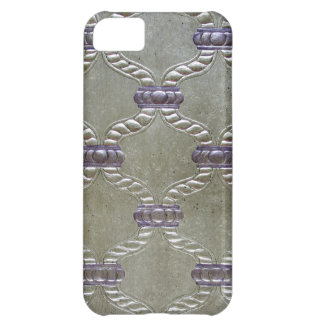 LUXURY LEATHER Gilded Fleuron Barely iPhone 5C iPhone 5C Case
