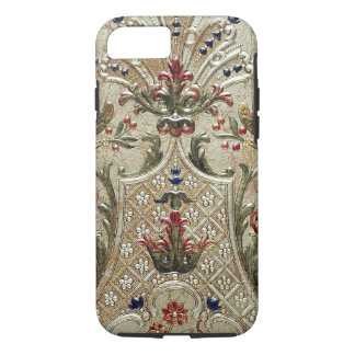 LUXURY LEATHER Gilded Print Vibe iPhone 7 Case