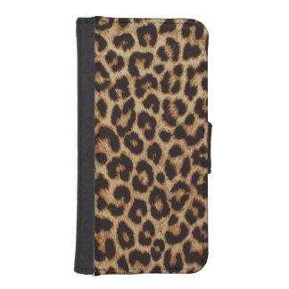 Luxury Leopard Skin Print iPhone SE/5/5s Wallet Case
