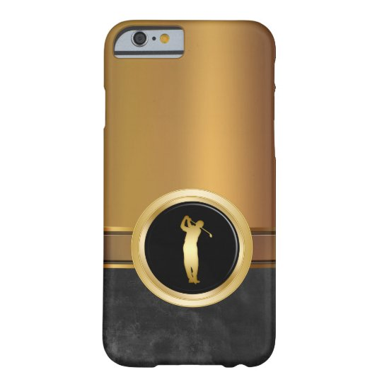 Luxury Men's Golf Theme Barely There iPhone 6