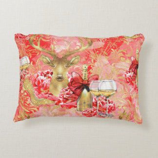 Luxury modern holiday inspired pillow