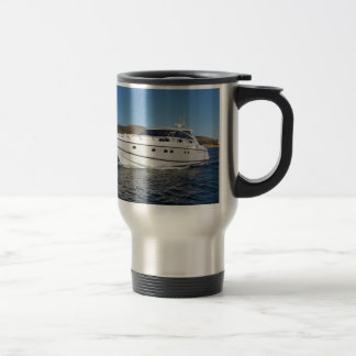 Luxury Motor Boat Travel Mug