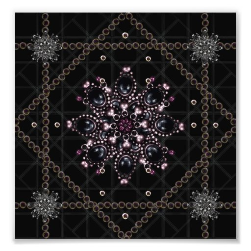 Luxury Ornament Artwork Photo Print