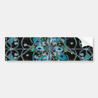 Luxury Ornate Artwork Bumper Sticker