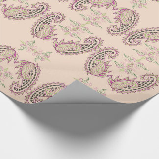 Luxury Paisley Wrapping Paper