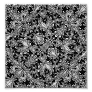 Luxury Patterned Modern Baroque Art Photo
