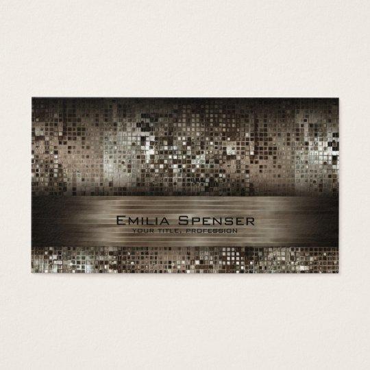 Luxury Platina Design Shimmering Cool Card