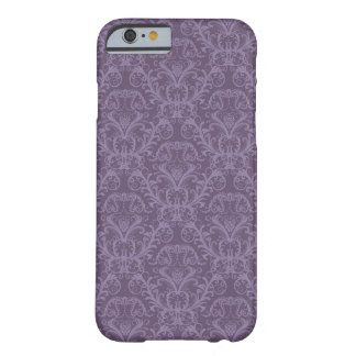 Luxury Purple Wallpaper Barely There iPhone 6 Case
