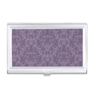 Luxury Purple Wallpaper Business Card Holder