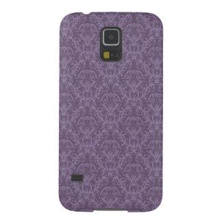 Luxury Purple Wallpaper Galaxy S5 Cover