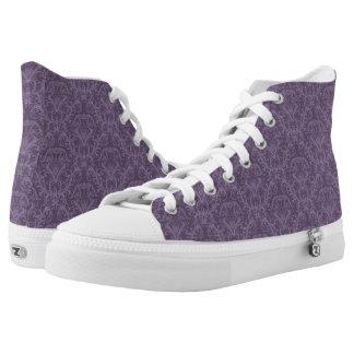 Luxury Purple Wallpaper High Tops
