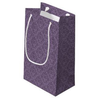 Luxury Purple Wallpaper Small Gift Bag