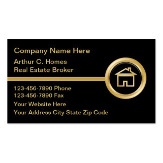 Luxury Real Estate Business Cards