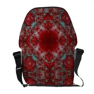 Luxury Relic Art Rickshaw Messenger Bag