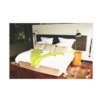 Luxury Safari Lodge Canvas Prints
