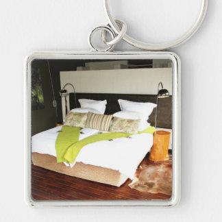 Luxury Safari Lodge Key Chain