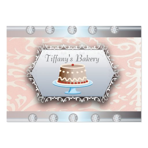 Luxury Vintage Bakery Boutique Business Card