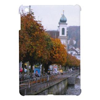 Luzern Autumn beside the river iPad Mini Covers