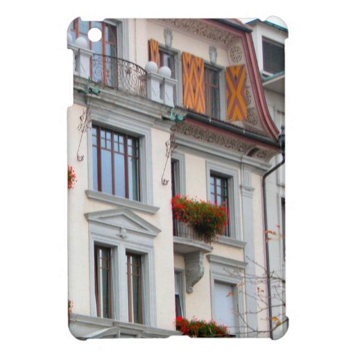 Luzern City houses iPad Mini Covers